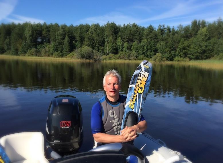Инсульт Блог. На водных лыжах после инсульта.