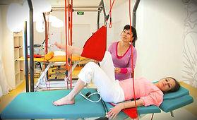 Тренажер для восстановления движения ног.