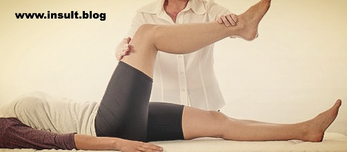 Инсульт Блог. Пассивная гимнастика.