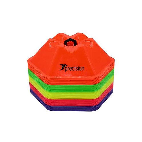 Hex saucer cones (50 set)
