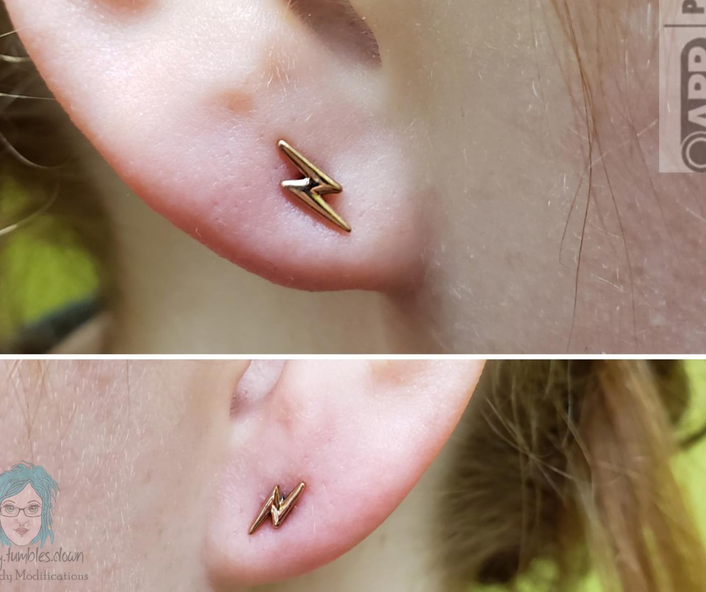 Pair of Lobe Piercings (ages 5-9)