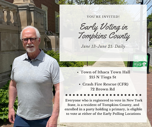 Early Voting Announcement Facebook Post.