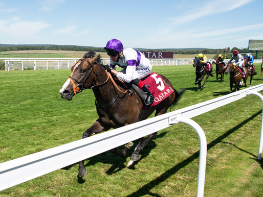 Supremacy Powers Clear to Win our Second Richmond Stakes