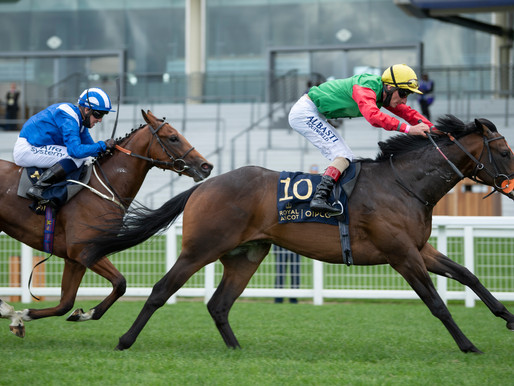 150-1 Nando Parrado Claims Victory in Coventry Stakes at Royal Ascot