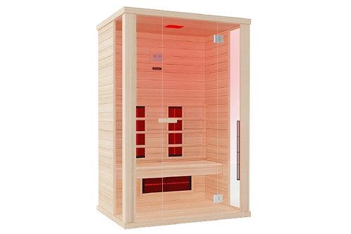 Solaris Hemlock Infrarot-Sauna von Wellis