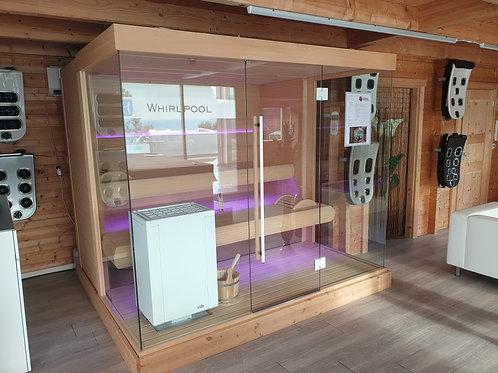 Ausstellungsmodell: Sauna Panoramic von Alpha Wellness