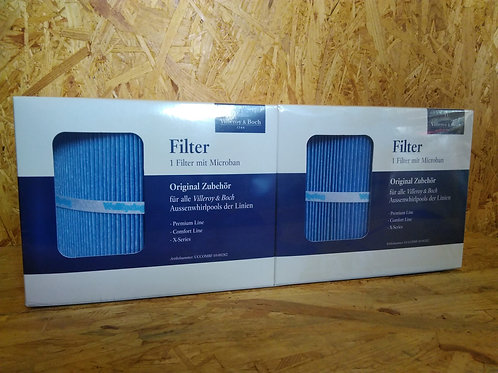 Filter-Set Villeroy&Boch für Premium-, Comfort-, & X-Serie