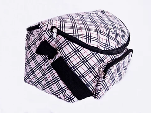 12 Hour Shift Bag-Pink Plaid CLEARANCE!!