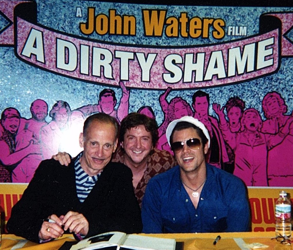 With John Waters and Johnny Knottesville