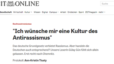 Interview mit Zeit Online