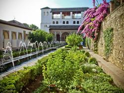 alhambra fontaine