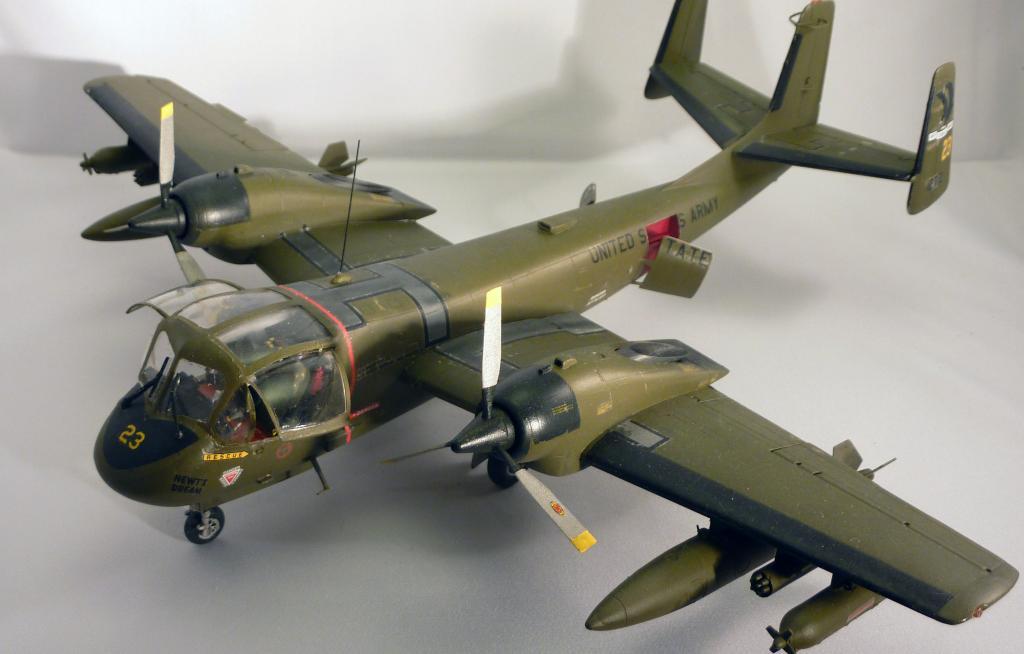 OV-1C Mohawk, US Army