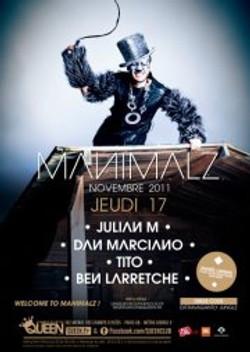 Soirée Manimalz - Queen Club Paris