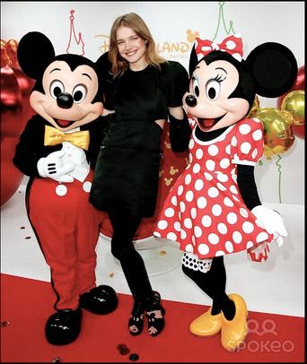 Natalia Vodianova - Disneyland Paris