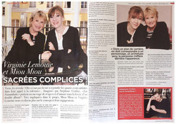 Miou-Miou & Virginie Lemoine - Journal de France