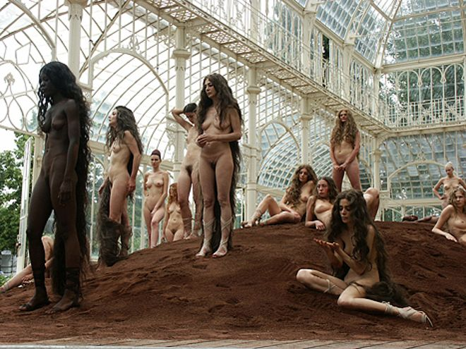 Vanessa Beecroft pour Louis Vuitton