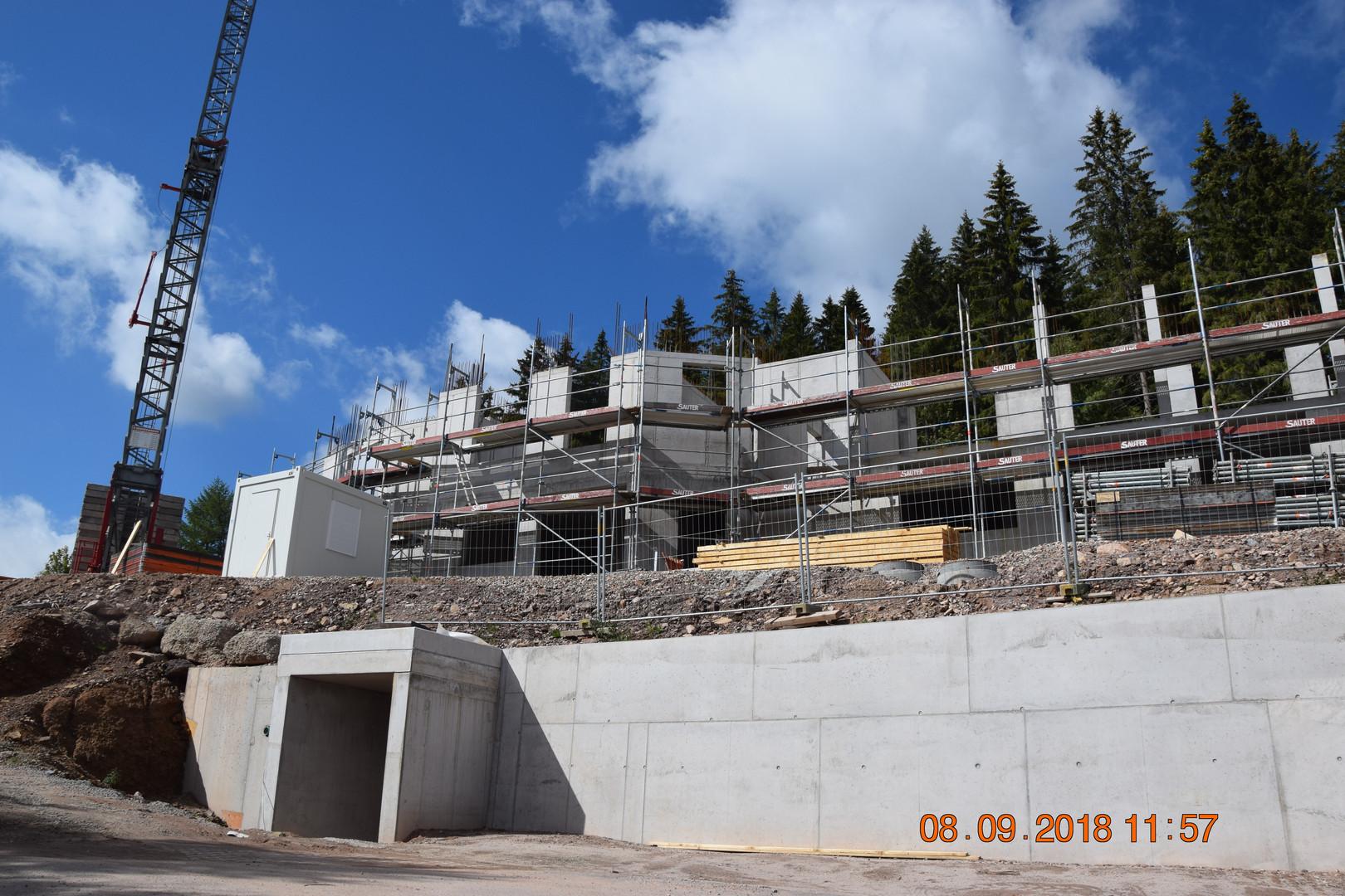 Baustelle am 08-09-18