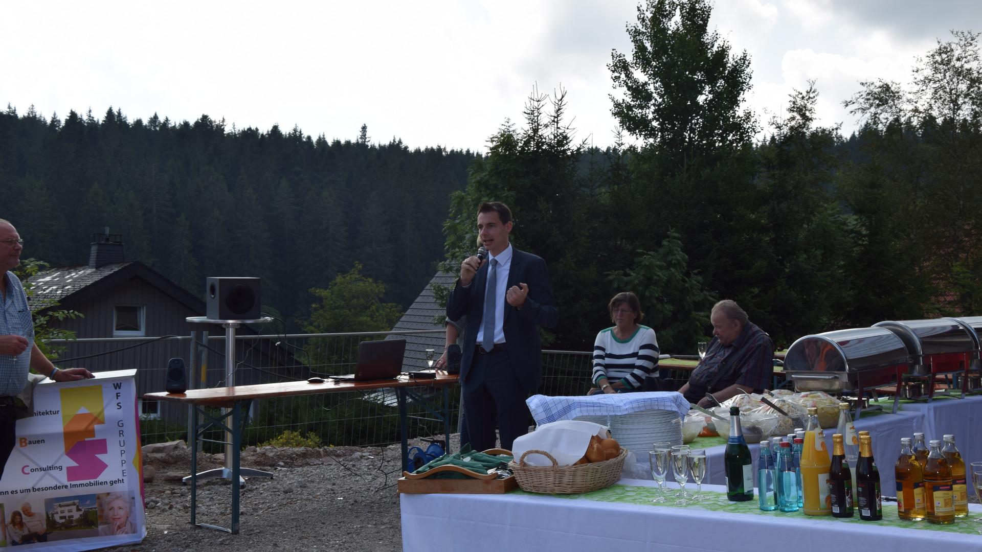 Ansprache Bürgermeister Wörpel