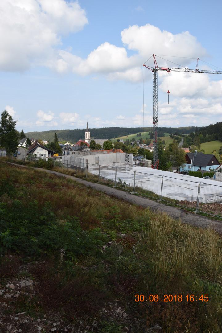 Baustelle am 30-08-18