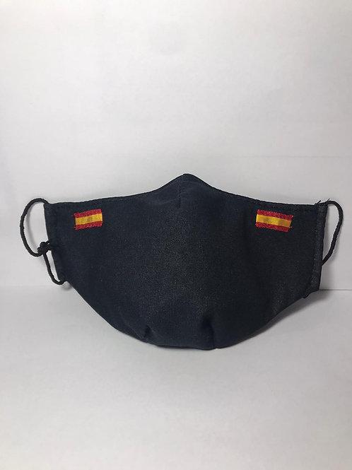 Mascarilla Anatómica Doble Capa Bandera España Caja 5 unidades