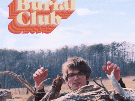Wailing strings ask you to the middle school dance on 'Burial Club'.
