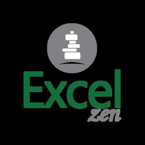 Excel Zen Intermediário - Sábado das 08h às 12h