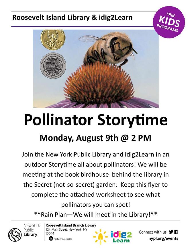 Pollinator Storytime