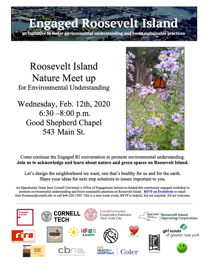 FEB 12 - Engaged RI:  Nature Meetup