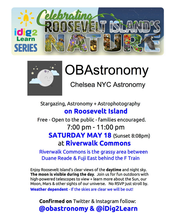 Roosevelt Island Stargazing