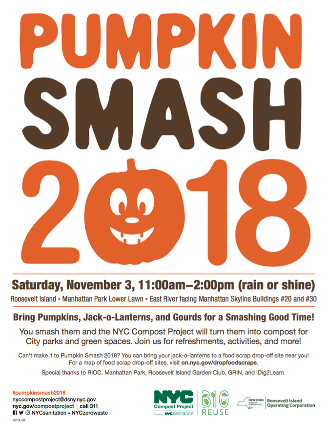 2018 Pumpkin Smash