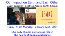 10 am FEB 22 with Beatrice Ajaero