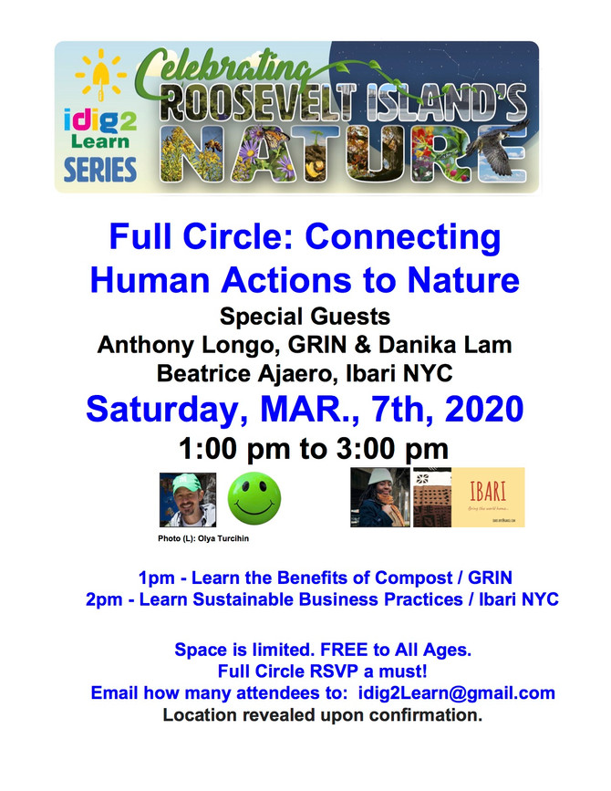 3/7 Full Circle:  Connecting Human Actions to Nature