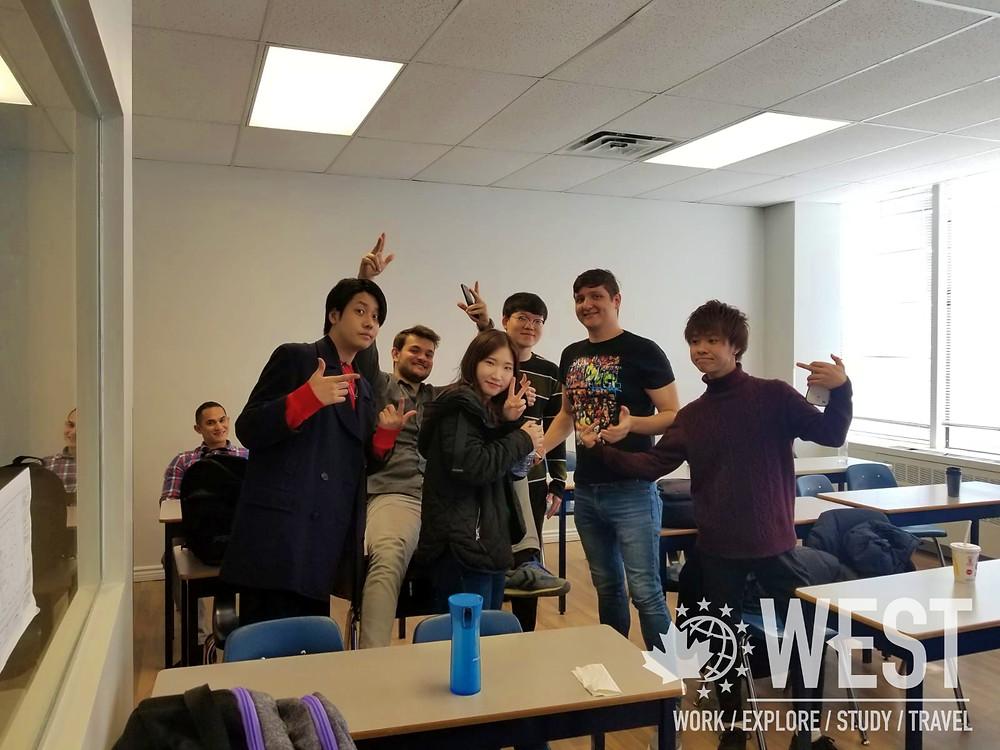 English Students at SSLC Toronto - West Education Group