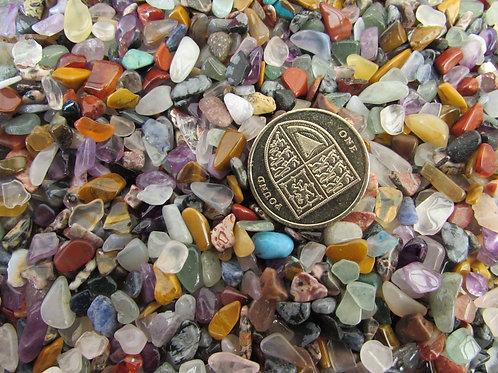 Crystal chips bag 5mm 1kg