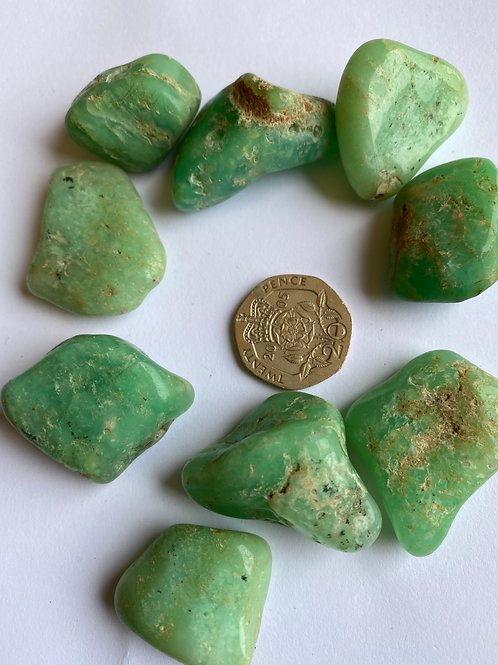 Chrysoprase green large