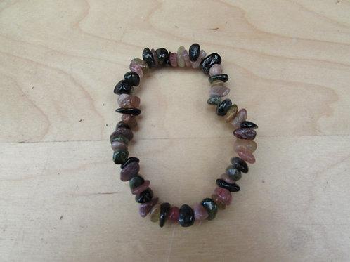 Tourmaline chip bracelet