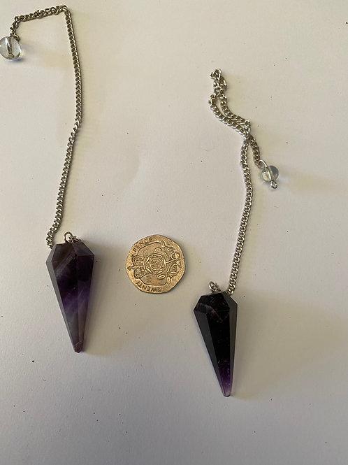 Dark Amethyst pendulum
