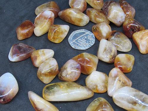 Citrine Quartz ( madeira quartz )