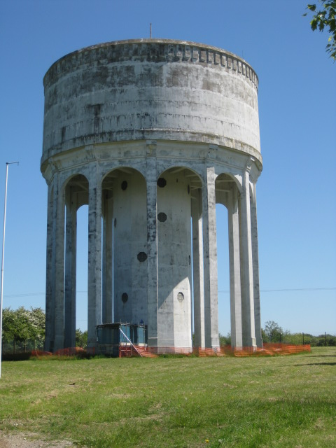 High Level Concrete Water Tower