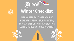 GIROSIL Winter Checklist