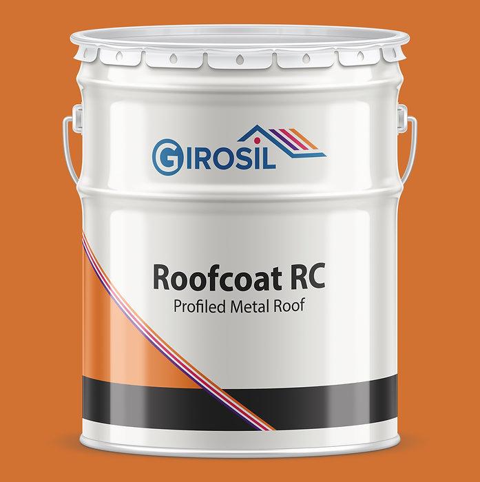 Girosil Roofcoat RC (Metal) Orange Tin.j