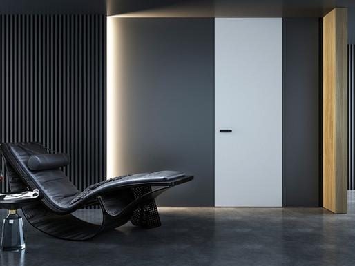 Drzwi ukryte - ikona obecnego designu