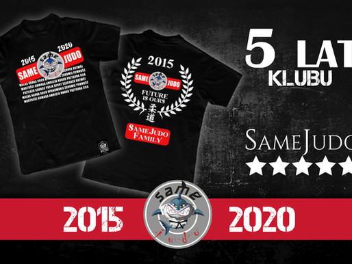 5 lat Klubu SameJudo - NIESPODZIANKA!