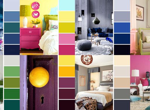 Bieżące trendy kolorystyczne we wnętrzach