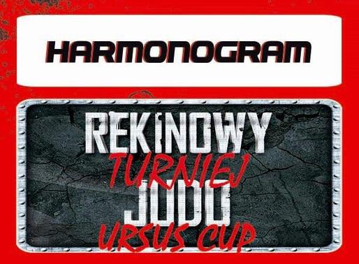 Rekinowy Turniej Judo URSUS CUP Harmonogram