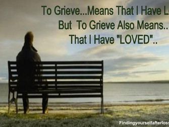 Grief...My Blessing