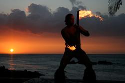 Hawaiian Flame Dance