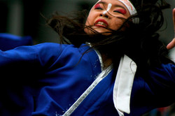 Traditional Japanese Dancer