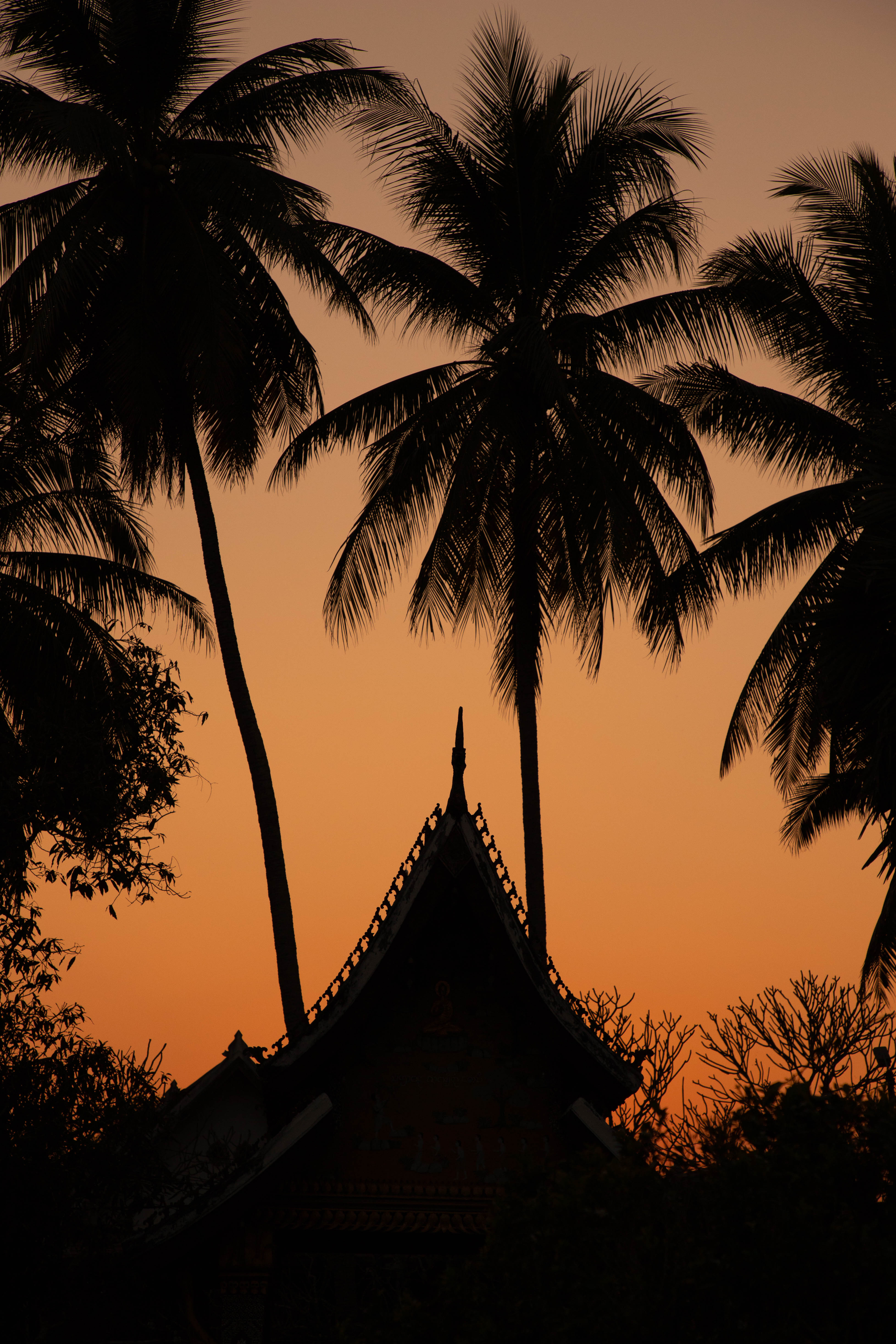 Sunset In Luang Prabang