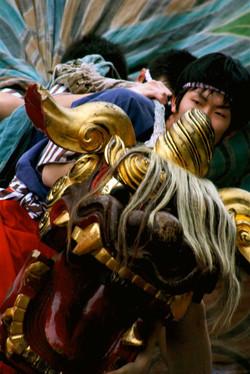 Japanese Dragon Dancers Oahu